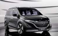 Представлен электрический компактвэн Mercedes-Benz EQT Concept