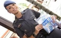 Украинка стала старшим лейтенантом военной полиции Бразилии