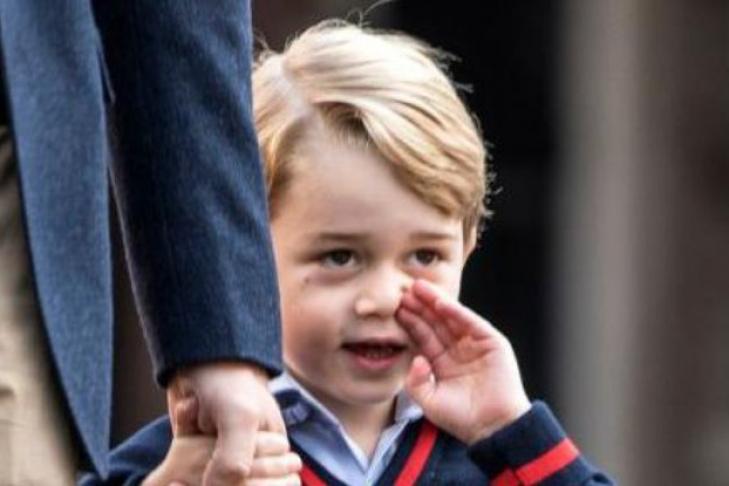 4-летнего принца Джорджа пытались похитить изшколы