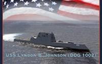 США спустили на воду эсминец-невидимку