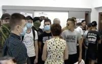 Вандалы напали на пресс-центр