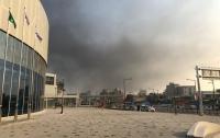 Игры-2018: возле Олимпийской деревни вспыхнул мощный пожар