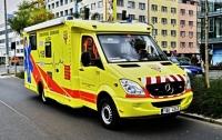 В Чехии пассажирский поезд врезался в грузовик