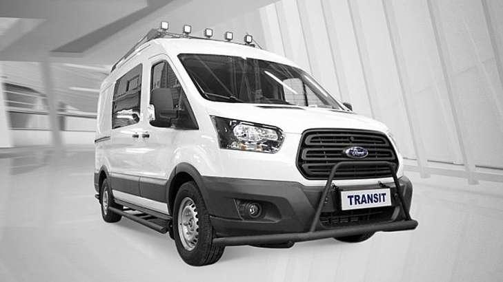 Ford представил новую версию автомобиля Transit для охотников