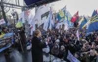 Тимошенко остановила распродажу земли в
