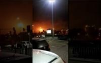 На крупнейшем НПЗ Европы вспыхнул пожар (видео)