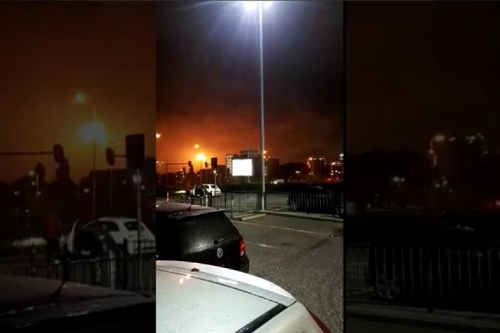 Вевропейских странах остановили крупнейший нефтезавод из-за пожара
