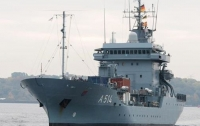 Немецкая плавучая база в феврале посетит два черноморских порта