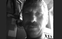 Сегодня умер раненый на Донбассе боец