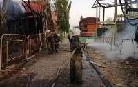 В курортном поселке горели базы отдыха, есть пострадавшие