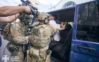 Появились первые детали задержания террориста из киевского банка