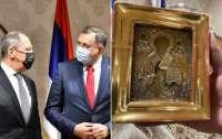 Додик не намерен возвращать икону Украине