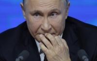 Российского президента высмеяли в соцсетях