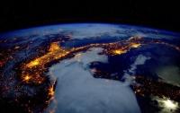 Астронавт NASA выложил в соцсети фото ночной Италии