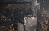 В Николаеве женщина сгорела в собственном доме (видео)