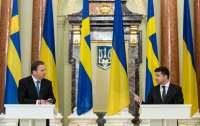 Президент предложил шведам частично решить проблему Украины с мусором