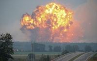 Взрывы на военном складе под Винницей не были вызваны извне