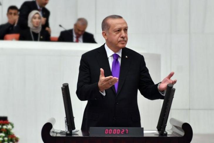 Эрдоган предложил референдум онеобходимости вступления Турции вЕС