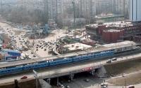 Две станции метро в Киеве закрыли из-за