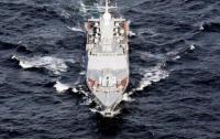 Российские корабли вошли в акваторию Азовского моря