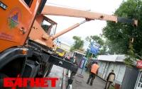 В 2012 году в Киеве демонтировали 3,5 тысяч МАФов