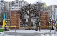 Дочь погибшего в АТО бойца нарисовала мемориал, который и построили (видео)