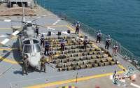 Две тонны кокаина найдены в открытом море