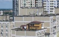 В Киеве на Троещине поселился свой «Карлсон»