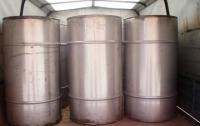 В Запорожской области изъяли несколько тысяч литров алкогольного фальсификата