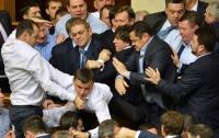 Как это было: нардепы снова устроили потасовку в парламенте (ВИДЕО)