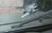 Пророссийские боевики обстреляли бронемашину с пограничниками