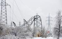 Снегопад оставил Одесскую область без света