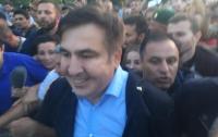 Сторонники Саакашвили прорвали кордон и завели его на территорию Украины