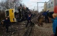 Пассажирский поезд сошел с рельсов в Бельгии