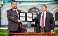 Сергей Арбузов принял участие в презентации марки, выпущенной к 1025-летию крещения Руси