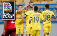 Лига Наций: Сборная Украины одержала победу над Швейцарией