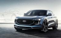 Первый электрокроссовер Ford Mach E будет конкурировать с Tesla Model Y