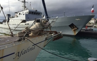 Кокаиновый круиз: Французские ВМС перехватили яхту с тоннами наркотиков