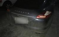 В Киеве расстреляли автомобиль футболиста