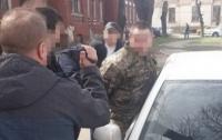 СБУ: В Николаеве крупной на взятке задержан командир взвода