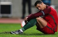 Криштиану Роналду пропустит очередной матч из-за травмы