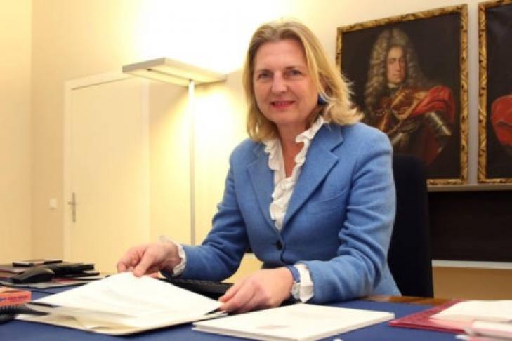 Санкции против РФ несработали— руководитель МИД Австрии