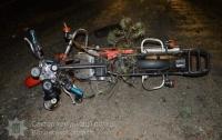 Смертельное ДТП на Волыни: байкер влетел в поваленное ураганом дерево