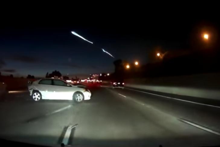 Запуск ракеты SpaceX приняли заинопланетное вторжение