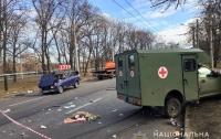 ДТП с военной машиной в Харькове: пострадал ребенок