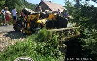 На Закарпатье подросток на квадроцикле устроил масштабное ДТП, есть пострадавшие