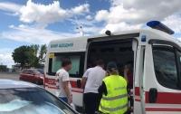 Страшное ДТП в Днепре: BMW протаранил Chevrolet и отлетел в автобус