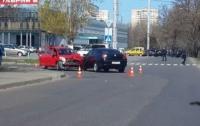 ДТП в Одессе: столкнулись две иномарки