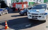 В Одессе произошло тройное ДТП, есть пострадавшие