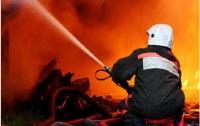 В Киеве пожарные спасли элитный дом от возгорания